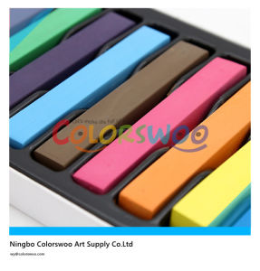 12 Color Soft Pastel and Hair Chalk pictures & photos