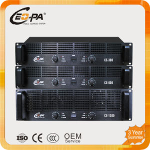 Two Channel Professional Power Amplifier with High Quality