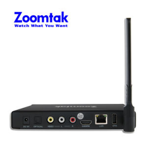 Zoomtak New Arrival Model Amlogic S905 Set Top Box pictures & photos