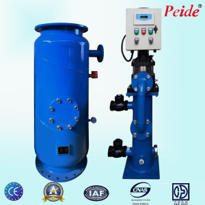 8t/H Dn50 380V50Hz Industrial Condensor Rubber Ball Cleaning Equipment pictures & photos