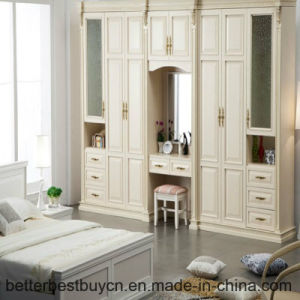 Newest Model High Quality Wood Armoire for Sale pictures & photos
