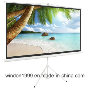 11 Years Professional OEM&ODM Tripod Projection Projector Screen pictures & photos