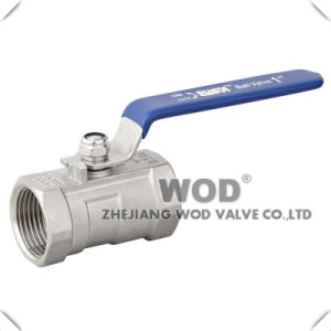Full Bore 1-PC Stainless Steel Ball Valve pictures & photos