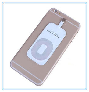 Portable Qi Standard iPhone Smart Wireless Charger Receiver pictures & photos