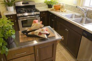 Dark Walnut Kitchen Cabinets (dw47) pictures & photos