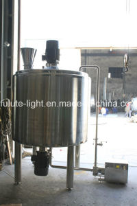 Stainless Steel Jacketed Mixing Tank for Liquid Soap pictures & photos