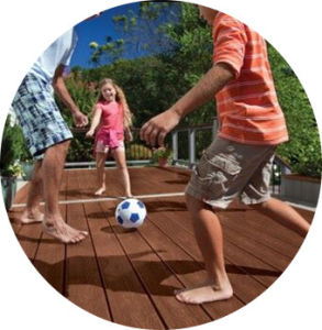 Green Material Anti-UV Outdoor WPC Decking pictures & photos