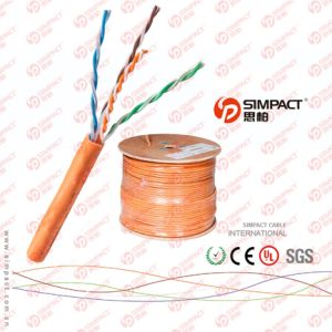 RoHS, Ce Approved LSZH CAT6 Wire pictures & photos