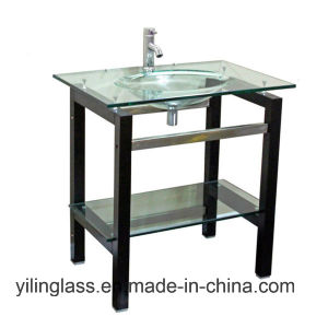 Tempered Toilet Basin Glass pictures & photos