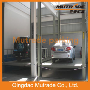 Four Post Parking Lift Car Elevating Garage (FP-VRC) pictures & photos