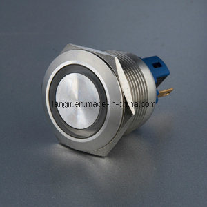 22mm Stainless Steel Metal LED Push Button Indicator pictures & photos