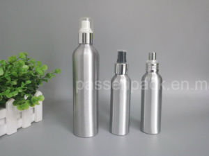 High Quality Aluminum Cosmetic Packaging Bottle with Sprayer Pump (PPC-ACB-044) pictures & photos