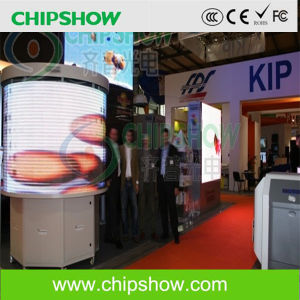 Chipshow P10 Cylindrical Full Color LED Screen pictures & photos