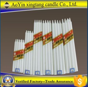 Selling White Pillar Candles to Africa Market pictures & photos