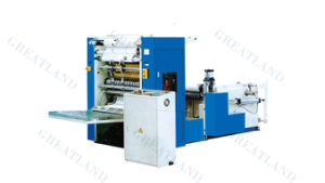Automatic Facial Tissue Folding Machine with Embossed Function pictures & photos