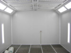 Auto Body Paint Booth with Water Curtain pictures & photos