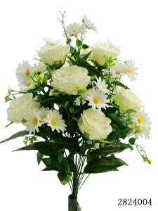 Artificial/Plastic/Silk Flower Rose, Daisy Bush (2824004) pictures & photos