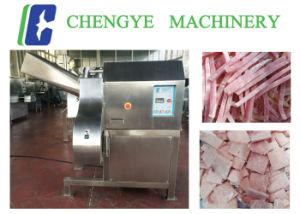 Frozen Chicken Dicer Meat Cutting Machine pictures & photos