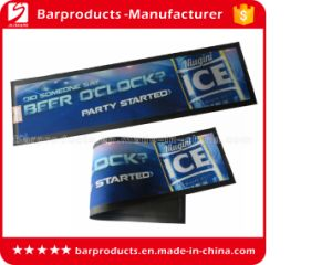 Best Quality Custom Rubber Logo Bar Mat for Sale