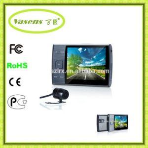Dual Lens 2 Camera Rearview Mirror Camera Car DVR pictures & photos