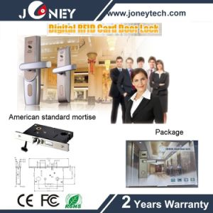 Lh5000 Professional RFID Card Keyless Hotel Room Door Lock with Software pictures & photos