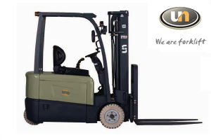 3 Wheel Montacargas 2 Ton Battery AC Motor Electric Lifting Warehouse Forklift Equipment pictures & photos