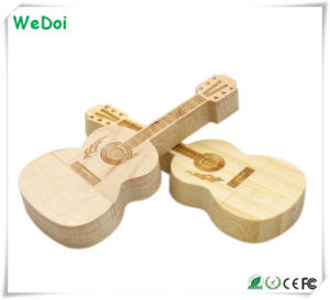 New Guitar Wooden USB Stick as Promotional Gift (WY-W48) pictures & photos