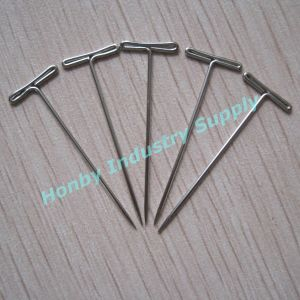 51mm Fashion Flat T Shaped Steel Hijab Pins pictures & photos