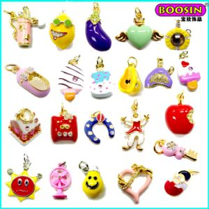 New Arrival Custom Wholesale Lovely Colorful Enamel Pendant pictures & photos