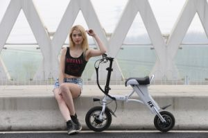 2016 New Fashion Youth Version Folding Mini Fox Electric Scooter pictures & photos