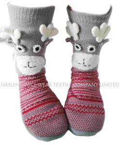 Knitted Anti-Slip Christmas Floor-Socks