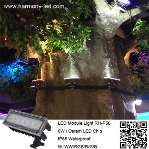 DC24V 6W Waterproof RGB DMX LED Module Light pictures & photos