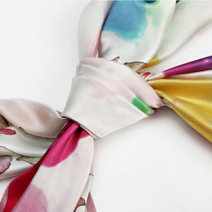 Silk Big Square Scarf 110 * 110cm for Women pictures & photos
