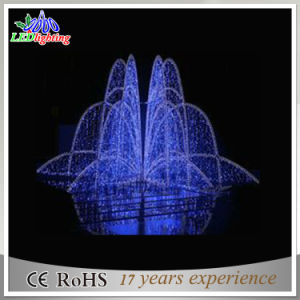 CE/RoHS Blue LED Fairy Christmas Outdoor Docoration Fountain Lights pictures & photos