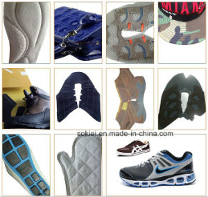 Computerized Mitsubishi Brothe Embroidery Shoes Making Pattern Sewing Machine pictures & photos