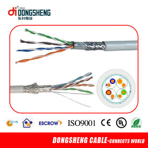 LAN Cable 0.57mm/ 0.55mm/0.52mm Bc& CCA CAT6 pictures & photos