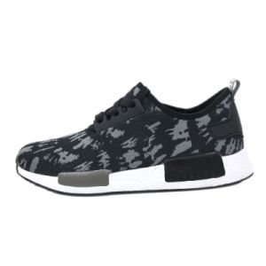 Offers on Sports Shoes Light Cotton Knitted Flynit Shoes Vamp pictures & photos