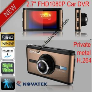 "Private Housing New 2.7""Full HD 1080P Car DVR with G-Sensor, Motion Detection, 6g CMOS Camera DVR-2725 pictures & photos"