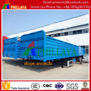 Side Wall Semi Trailer with Detached Side Wall pictures & photos