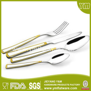 Gold Cutlery Stainless Steel, Cutlery Set in Wooden Box