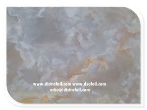 China Manufacturer Faux Marble Hot Stamping Foil for PVC, Wood Furniture pictures & photos