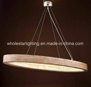 Wood Chandelier with LED Insider (WHG-9092) pictures & photos