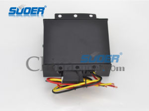 Suoer Car Power Converter 24V to 12V Power Supply Converter with Factory (DC-130BP) pictures & photos