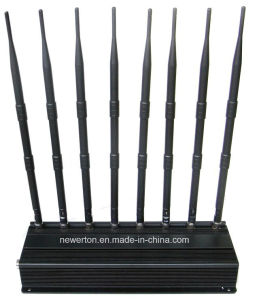 8-Antenna Jammer for 2g 3G 4G 2.4gwifi Remote Control GPS VHF UHF Lojack pictures & photos