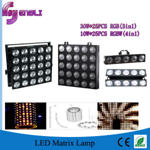 30W RGB LED Matrix Light with Wash Effect (HL-022)
