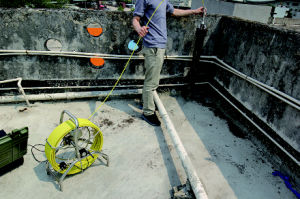 Wall and Underwater Pipe Sewer Inspection Detect Camera pictures & photos