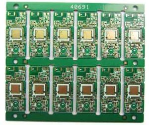 Ten -Layer Sidesimmersion Gold PCB Half -Hole