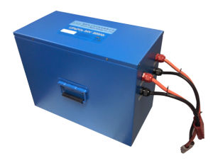 Forklift 24V 200ah Rechargeable Lithium Ion Battery Pack pictures & photos