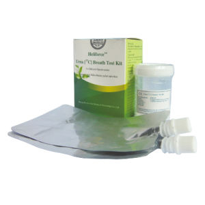 H. Pylori in-Vitro Diagnostic Reagent C13 Urea Breath Test Kit -Heliforce (75MG) pictures & photos