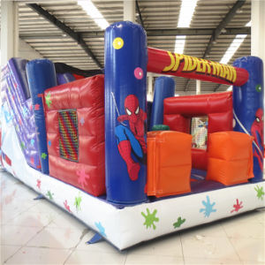 Bounce House Inflatable Circus Slide (AQ14121) pictures & photos